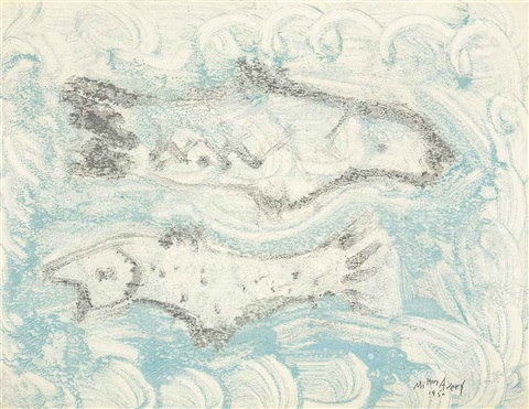 pale fish by milton avery