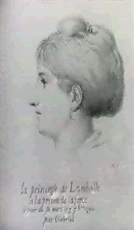 portrait de la princesse de lamballe by r gabriel