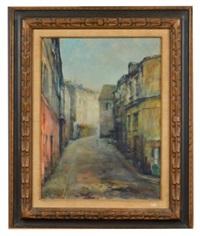 street scene by alfred s. mira