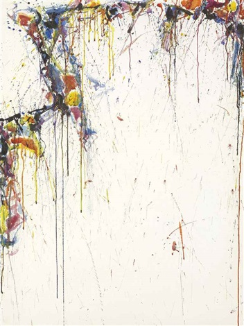 japan line series no 1 composition by sam francis