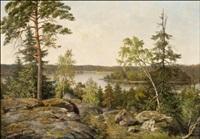 kesäpäivä näköalapaikalla by fredrik ahlstedt