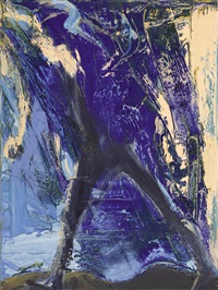walking against blue by euan macleod