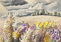 september wind by charles ephraim burchfield