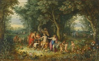 venus, ceres and bacchus by hendrick van balen the elder and jan brueghel the younger