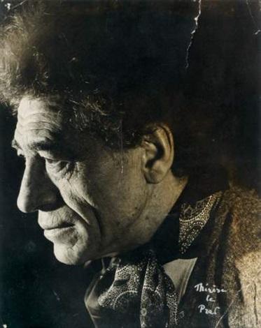 portrait dalberto giacometti by therese le prat