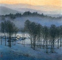 冬 by deng chuxia