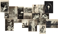 sonntagsbilder (sunday pictures) (set of 21 works) by hans peter feldmann