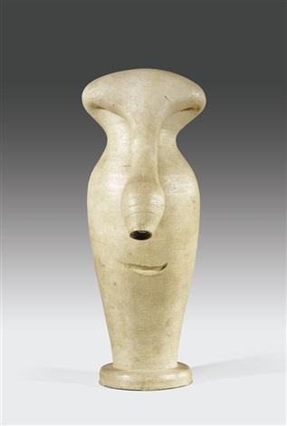 vase visage by pablo picasso