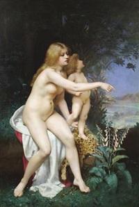 vénus et l'amour by victor tortez