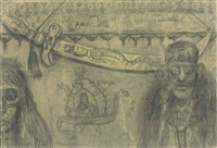 moulid of the dervishes by abdel hadi el-gazzar