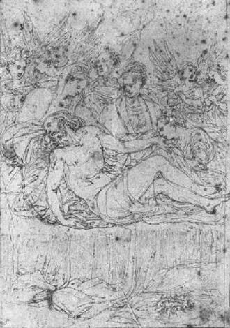 the lamentation by ercole setti