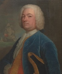 edmund peer of alverton, captain of the royal navy 1730-17 by joseph highmore