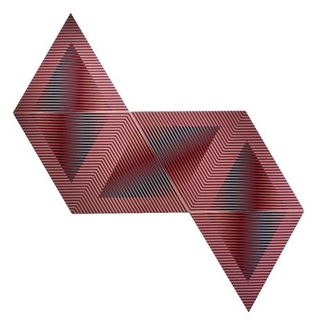 color aditivo permutable (in 6 parts) by carlos cruz-diez