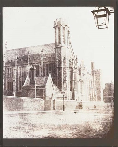 new hall library lincolns inn london by william henry fox talbot