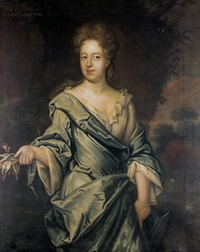 portrait of lilias, daughter of alexander, 5th lord elphinstone by david scougall