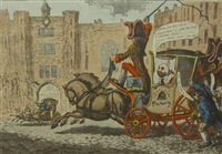 malagrida, driving post by james gillray