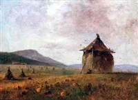 hay field by charles lanman