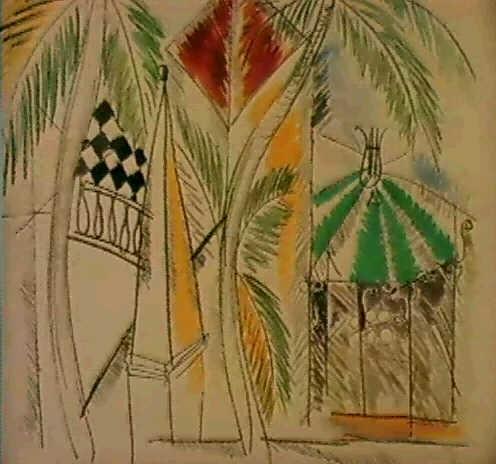Le Jardin Public A Hyeres By Raoul Dufy On Artnet