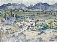 clifden landscape by maurice macgonigal