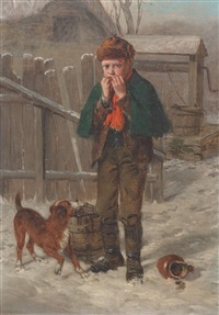 winter from the well by william hemsley