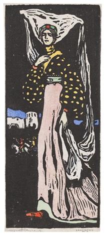 die nacht große fassung by wassily kandinsky