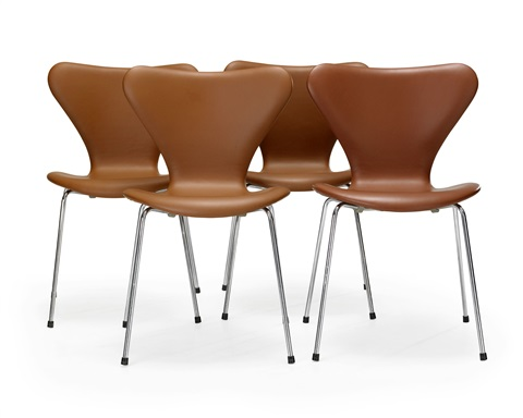 sjuan stolar set of 4 by arne jacobsen