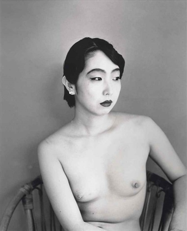 untitled from arakis lovers series by nobuyoshi araki