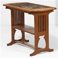 table d'appoint by gustave serrurier-bovy