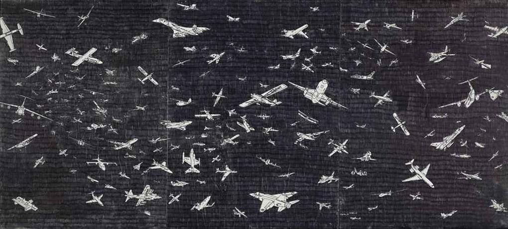 aerei by alighiero boetti