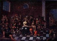 el prendimiento de cristo by lucas de valdes
