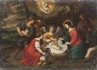 l'adoration des bergers by pieter lisaert iv