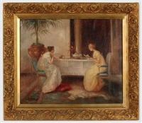 teatime gossip by antonia soler