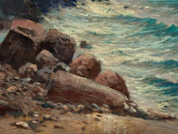 swedish coastline by hans schleich
