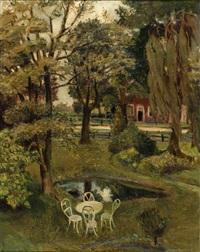 a garden in bedemsvaart by johan buning