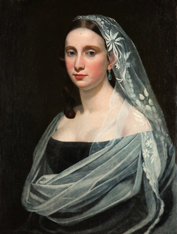 portrét mladé dámy by antonín machek