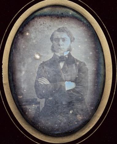autoportrait by auguste houze de l aulnoit