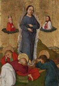 le couronnement de la vierge by german school-cologne (16)