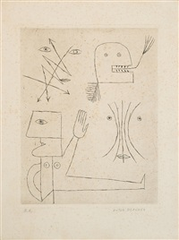 senza titolo by victor brauner