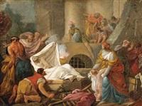 die erweckung des lazarus by sébastien bourdon