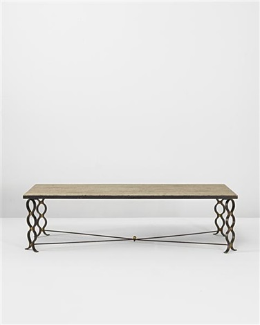 ruban coffee table by jean royère