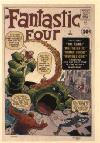 fantastic four no1 by dick ayers