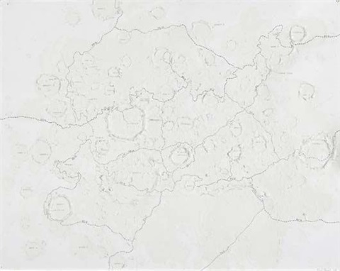 untitled (craters) by roxy paine