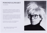 personenalphabet (43 works) by anna artaker