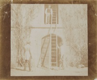 the ladder, 1845 by william henry fox talbot