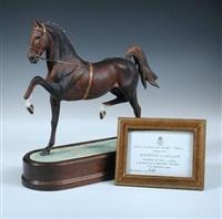 hackney stallion by doris lindner