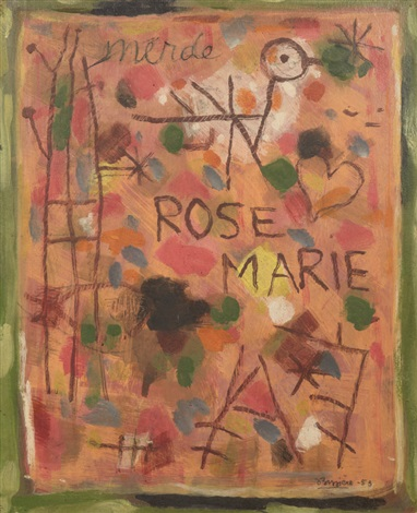 rose marie by roger bissière
