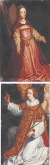 the virgin annunciate by pieter lastman