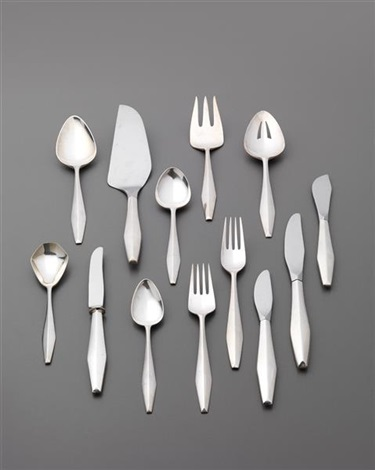 diamond flatware service 90 works by gio ponti