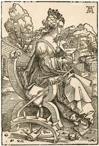 die heilige katharina von alexandria by hans baldung grien