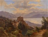 madonna del sasso - lago maggiore by zsigmond bubics